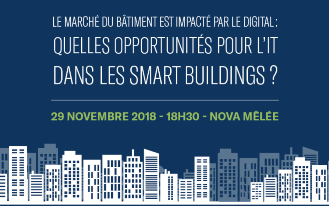 Rencontrez-nous à l'Afterwork Smart City le 29/11 à Toulouse