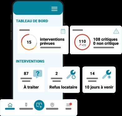 Représentation illustrée d'IntentPlatform sur mobile